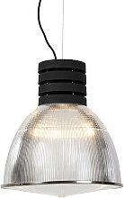QAZQA - Suspension Industriel - 1 lumière - H
