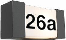 QAZQA Tide - Eclairage pour numéro de maison