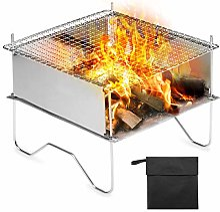 QAZW Réchaud De Camping Barbecue Grill Portable