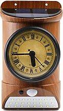 QBLDX Horloge Murale étanche IP44 Extérieure