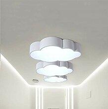 QCSMegy LED plafonnier Nuage Lumière Moderne