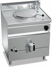 QDM Marmite à gaz professionnelle à chauffage