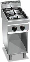 QDM Réchaud à gaz professionnel sur meuble 2
