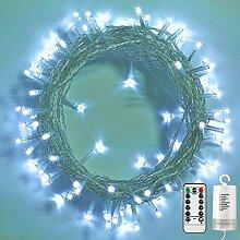 Qedertek 200 LED Guirlande Lumineuse Noel a Piles,