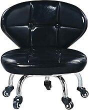 QFdd Petite Chaise Haute Couleur 28cm à roulettes