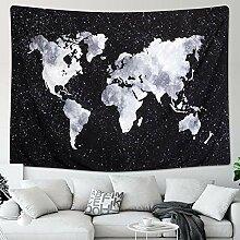 QFTZ Dremisland Tapisseries Carte du Monde