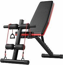 QHWJ Fitness Banc de Musculation Banc Pliable