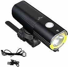 QIANDENG LED Lumière de Vélo Kit, USB