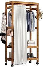 QIANGU Porte-vêtements Autoportant Avec Tringle