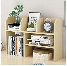 QIAOLI Bibliothèque de bureau en bois -