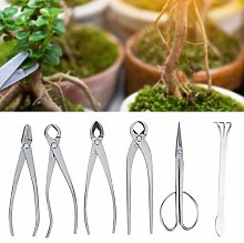 Qinlorgo Ensemble d'outils de Jardin bonsaï,