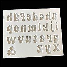 qinqin 3D Majuscule en Silicone Moule en Silicone