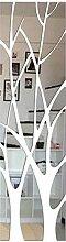 QJKai 21 Pièces Miroir Adhesif Decoratif Grand