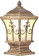 QJUZO 10W LED Lampes de Poteau Extérieure E27