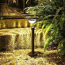 QJUZO 5W LED Borne Lampadaire Solaire Extérieure