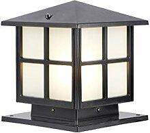 QJUZO Antique Lampe Pilier Exterieur,IP65 Étanche