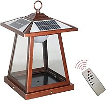 QJUZO Lanterne Solaire Exterieur Avec