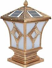 QJUZO LED Borne Lumineuse Exterieur Solaire IP65