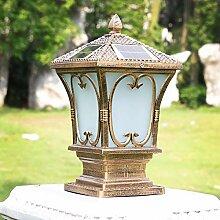 QJUZO LED Lampe de Jardin Exterieur Lampadaire