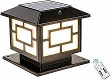 QJUZO LED Lampe Pilier Portail Exterieur,