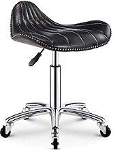 QLIGAH Chaise de Fitness à roulettes Tabouret de