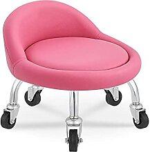 QLIGAH Pivotante Petite Chaise sur Le Sol, Salon