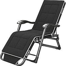 QTWW Chaise pliante inclinable zéro gravité avec