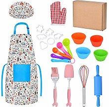 Queta Real Kids Kit de pâtisserie 30 pièces pour