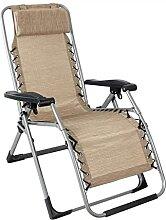 QXWJ Chaise Pliante de Camping, Chaise Longue