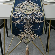 QYHSS Chemin Table Jacquard Style EuropéEn,Nappe