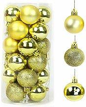QYY Boules De Noël 4cm Arbre De Noël Boules,Lots