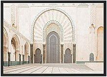 QZROOM Maroc Toile Peinture Impression Affiches
