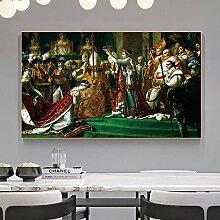 QZROOM Napoléon Couronne Affiche Paris Affiche