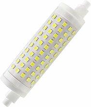 R7S Lampe LED 118mm 15W dimmable, Ampoule J118 à