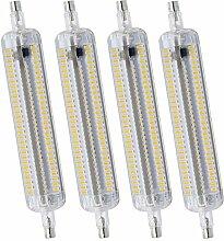 R7S LED Ampoule 288 3014SMD Lampe en Silicone
