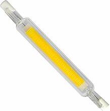 R7S LED COB ampoule à intensité variable 118mm