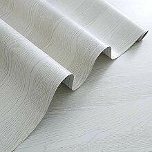 rabbitgoo Papier Peint Adhesif Decoratif Bois pour