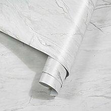 rabbitgoo Papier Peint Adhesif Marbre Rouleaux