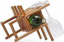Rack Wine Rack rotin vin |Conception Countertop |