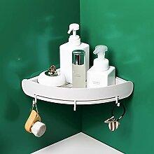 Racquette de rangement de salle de bains Rack