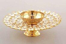 radhna Crystal Akhand Diya Lampe à huile Puja