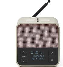 Radio-réveil avec enceinte et chargeur en ABS