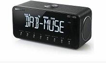radio-réveil double alarme - m-196dbt - Muse