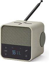 Radio-réveil Enceinte  Charge induction en ABS