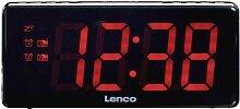 Radio-réveil Lenco CR-30BL noir Q547822