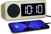 Radio Réveil Numérique - Radio-Pilotée - 1 Port