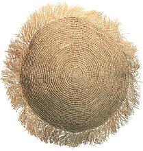 Raffia - Coussin rond en raphia ø60cm
