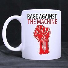 Rage contre la bande de Machine décorative