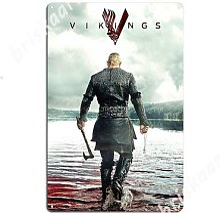Ragnar Lothbrok – panneaux métalliques Vikings,