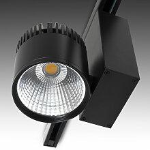 Rail D'Éclairage Led Noir 45W 45° 3300Lm -